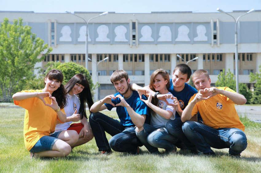 Студенты ВолГУ