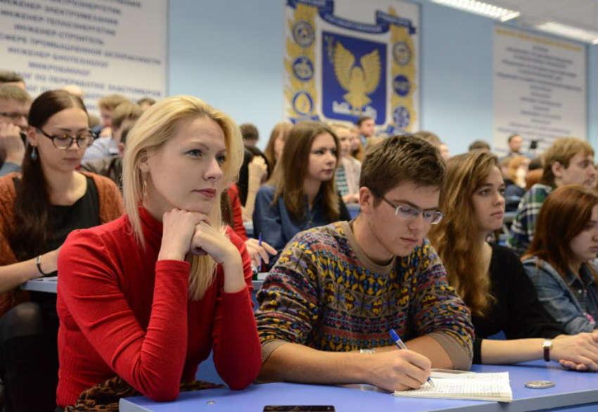студенты ВСЭИ в г. Кирове