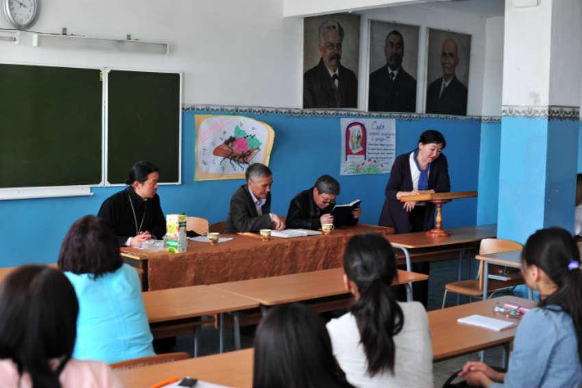Филологический факультет в ТувГУ в Кызыле