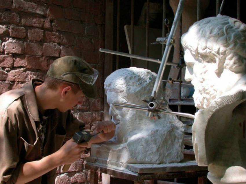 Факультет скульптуры МГАХИ