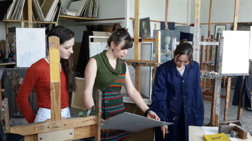 Факультет живописи МГАХИ имени Сурикова