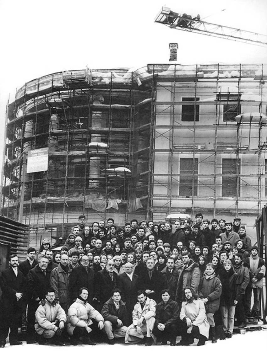 История академии искусств И Глазунова