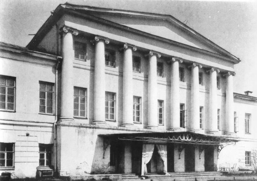 Старое здание Гнесинки