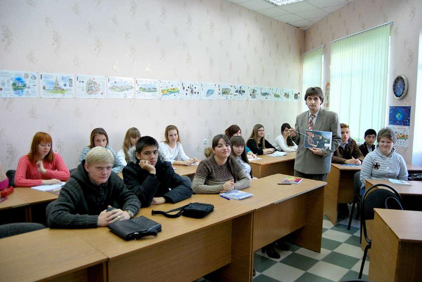 Студенты АЛСИ в Армавире