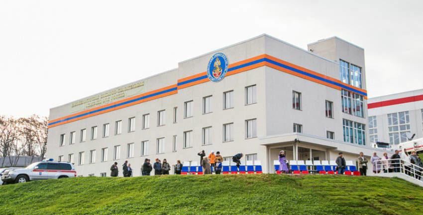 Дальневосточная пожарно-спасательная академия во Владивостоке
