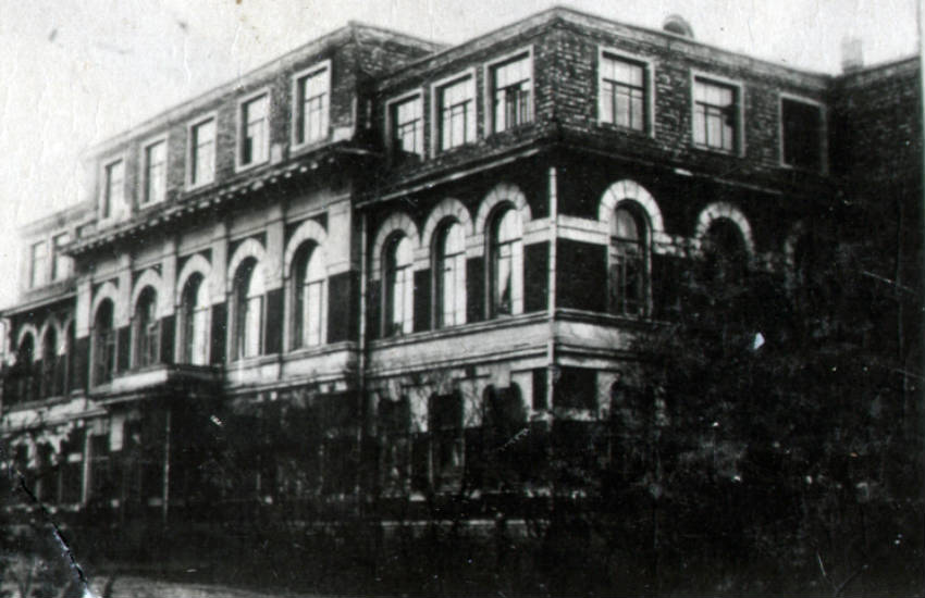 Довоенное здание техникума