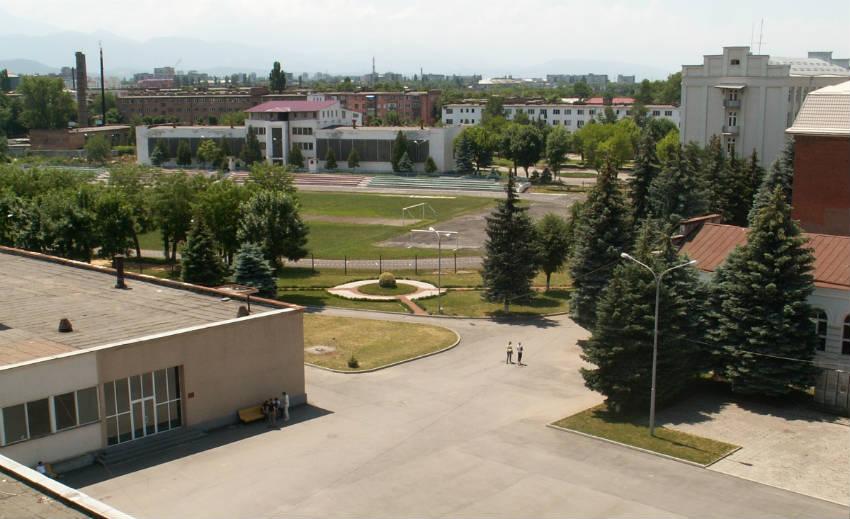 СКГМИ во Владикавказе - Северо-Кавказский горно-металлургический институт